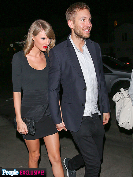 Taylor Swift & Calvin Harris Go on Dinner Date, Fuel Relationship Rumors