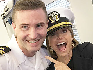 Katie Couric, Jimmy Fallon, Vanessa Hudgens Dive into Fleet Week with Adorable Sailor Selfies (PHOTOS)