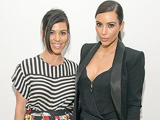 Kris Jenner Tries to Embarrass Daughters Kourtney and Kim Kardashian with a Throwback Pic of Their Model Poses