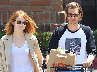 See the First Photo of Emma Stone & Andrew Garfield Back Together After Taking a Break