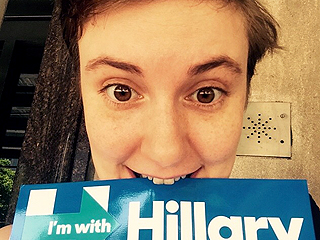 Lena Dunham: It's 'Misogynistic BS' to Say I Support Hillary Clinton Just Because She's a Woman