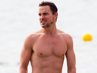 Matt Bomer Looks Ab-Solutely Amazing on the Beach – See the Photo