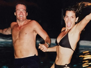 Cindy Crawford Celebrates Her Wedding Anniversary with a Throwback Bikini Photo