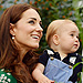Princess Kate Plays Monster on Secret Play Date with Prince George – in Matching Mommy-and-Me Outfits!