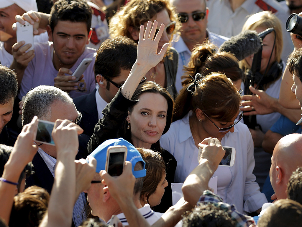 Angelina Jolie Pitt Visits Turkey With Shiloh for World Refugee Day
