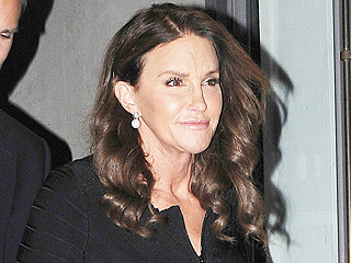 Caitlyn Jenner Steps Out in Body-Hugging Black in N.Y.C.