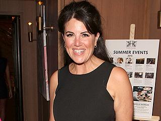 PHOTO: Monica Lewinsky Wears a Crop Top (Again!) to a London Bash