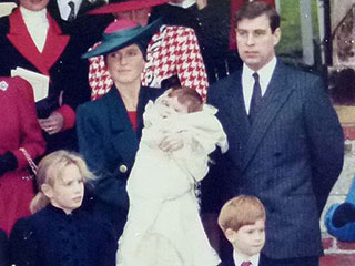 Throwback Thursday! Princess Charlotte Wasn't the Only Little Princess to Get Christened at Sandringham