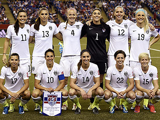 Let's Go Girls! Meet the Stars of the U.S. Soccer Team Headed to the World Cup Finals