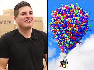 Up and Away! Man Attempts to Skydive from Balloon-Flown Lawn Chair for Publicity Stunt, Detained After Crash Landing