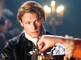 FROM EW: Get a First Look at Outlander's Claire and Jamie in Season 2