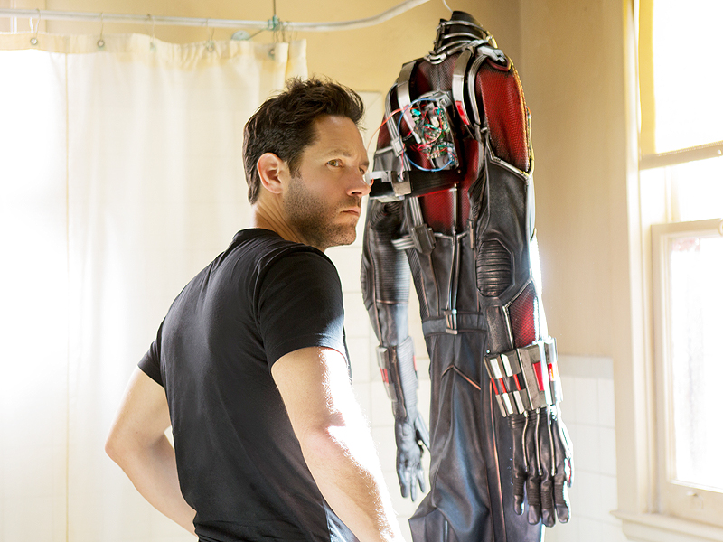 Ant-Man's Paul Rudd on His Newly Fit Body, Workout Regimen, Diet