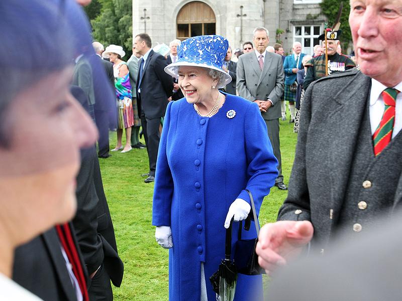 Queen Elizabeth Begins Her Summer Holiday at Balmoral Castle
