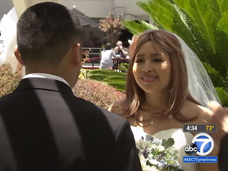 California Mom with Terminal Cancer Receives Dream Wedding from Hospital