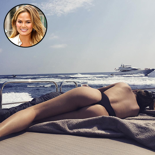 Chrissy Teigen Posts Sexy Instagram on Vacation