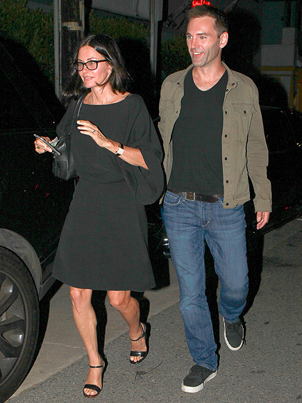 Courteney Cox, Johnny McDaid Are All Smiles After Romantic Dinner
