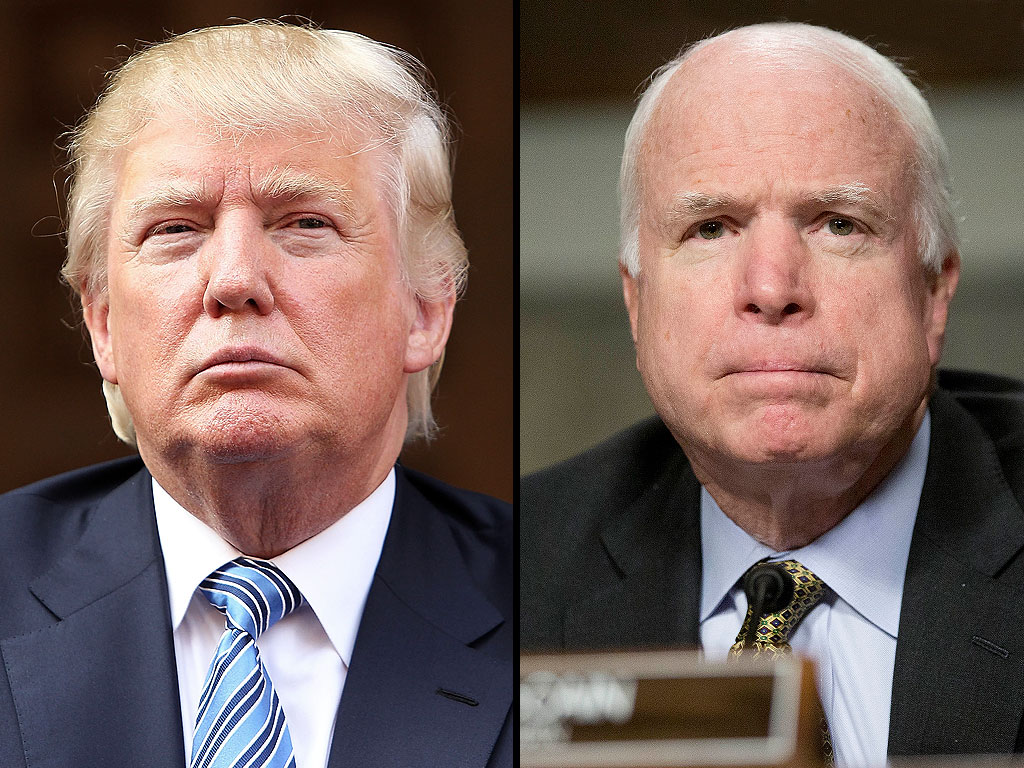 John McCain Responds to Donald Trump's War Hero Comments