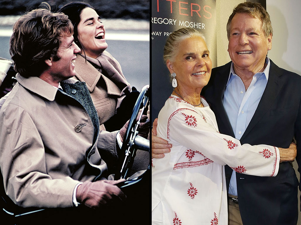 Ali MacGraw: 'The Chemistry Between Ryan O'Neal and Me Has Not Changed'