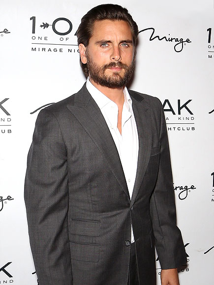 Scott Disick's First Post-Breakup Club Appearance