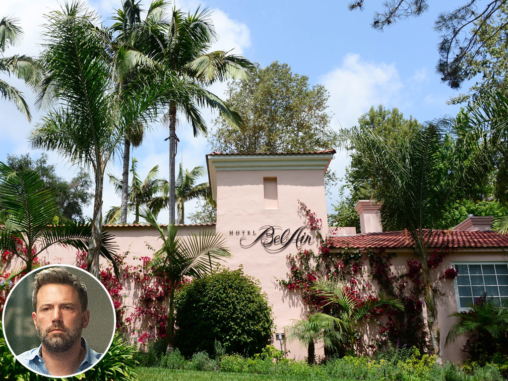 Ben Affleck Staying at Hotel Bel-Air: Inside His Private Retreat