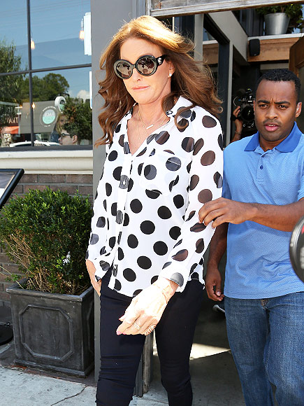 Caitlyn Jenner Steps Out for Lunch With Pal Candis Cayne
