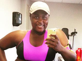 Orange Is the New Black's Danielle Brooks Posts Fierce Body-Positive Gym Selfie: