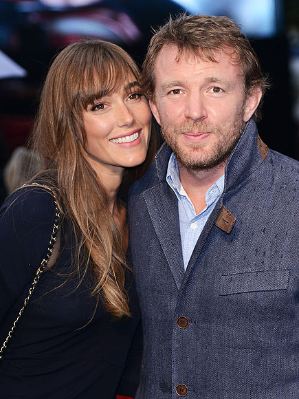 Guy Ritchie and Jacqui...