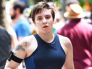 Lena Dunham Posts Sweaty Paparazzi Shot: 'I Felt Strong, Swift and Proud'