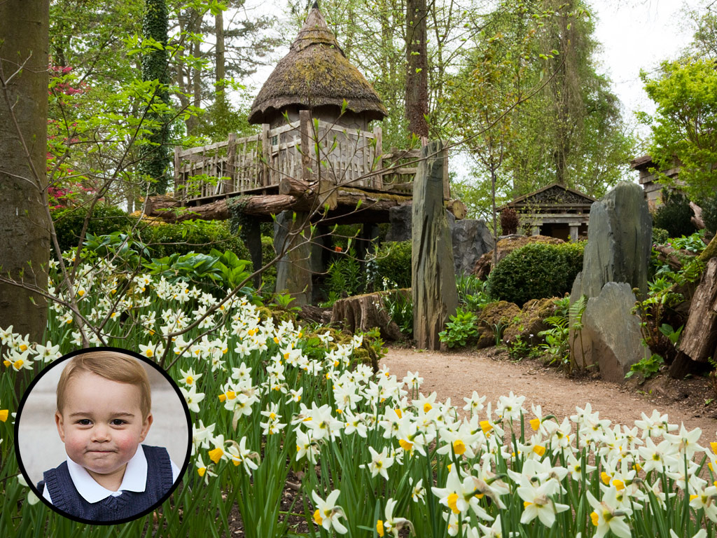 Prince Charles Transforms Highgrove Garden into Playground for Prince George