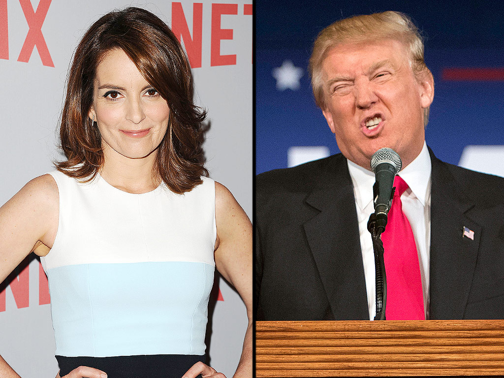 Tina Fey on Donald Trump's Presidential Run: 'It's Great For Comedy'