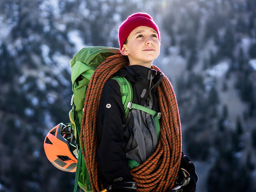 California Boy Climbs World's Tallest Mountains for Kids with Muscular Dystrophy