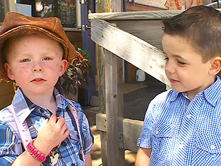 6-Year-Old Former Mayor Endorses His 3-Year-Old Brother for Same Office