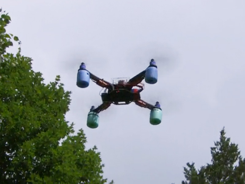 Drone Drops Drug Delivery into Ohio Prison Yard