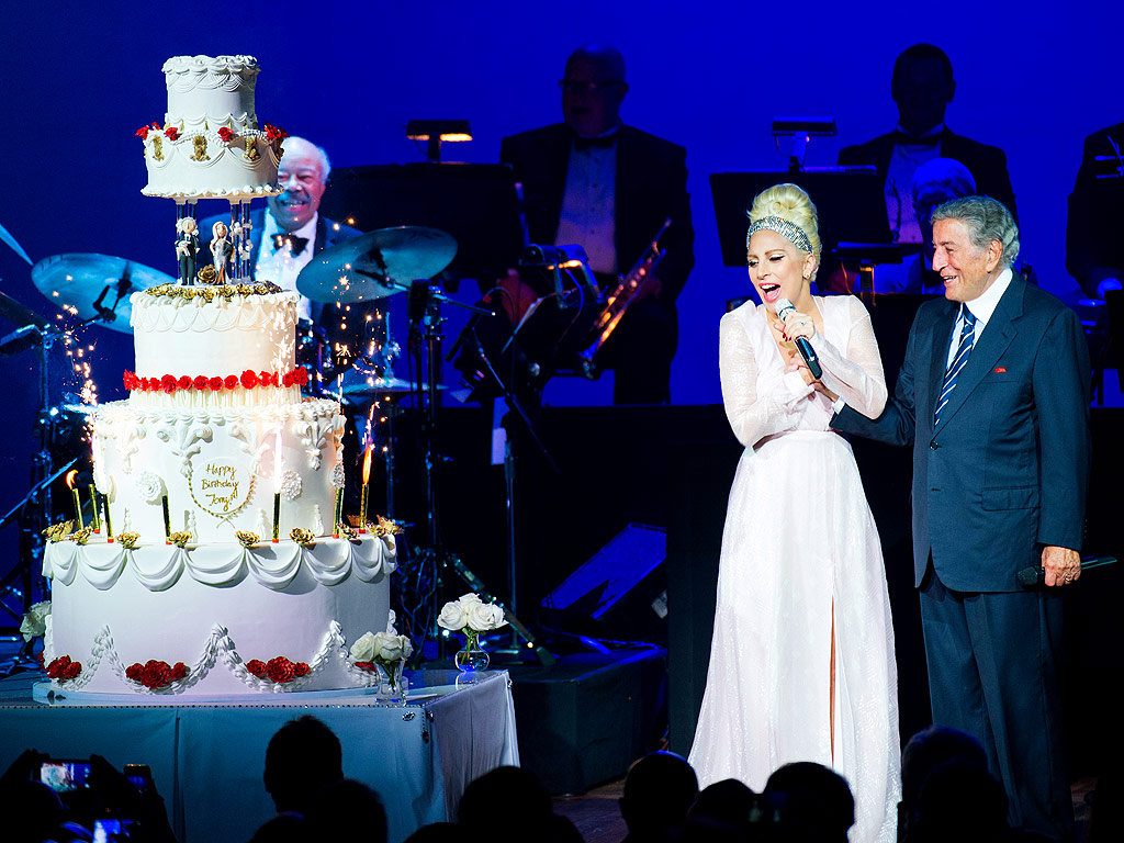 Surprise for Tony: Lady Gaga Surprises Tony Bennett