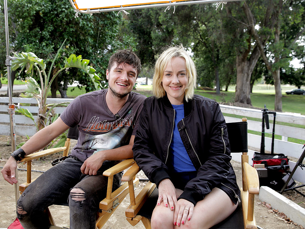 Jena Malone and Josh Hutcherson Working on Canon Project Imagination