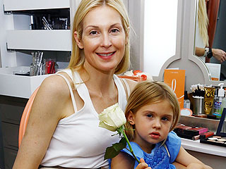 Kelly Rutherford Spends Time with 'Future Clothing Designer' Daughter Days Before Kids Leave U.S.