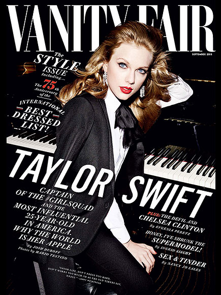 Taylor Swift Opens Up About Her Squad in Vanity Fair