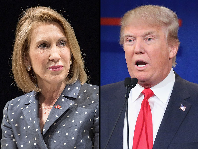 Donald Trump Fires Back At Carly Fiorina on Twitter