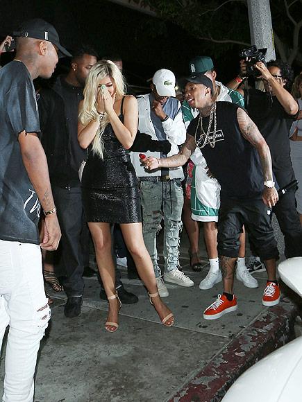 Tyga Gives Kylie Jenner Ferrari for 18th Birthday