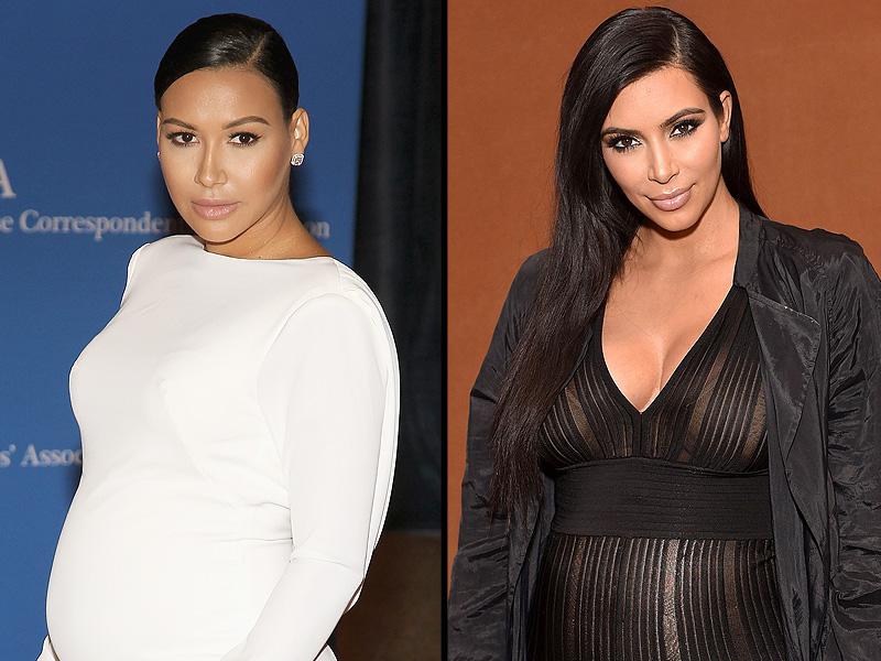 Naya Rivera: Kim Kardashian West Naked Pregnancy Pics Coincidence Is 'Stupid'