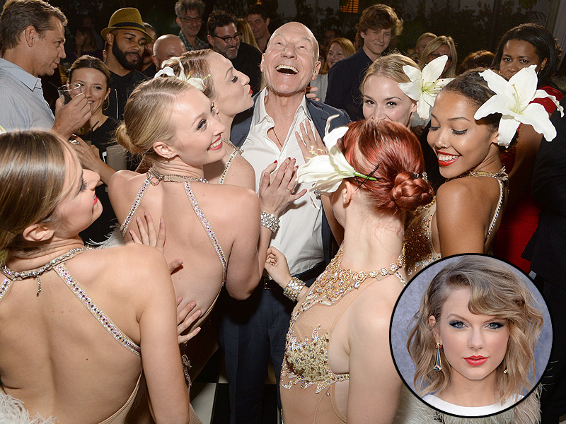 Patrick Stewart Jokes About Joining Taylor Swift's Squad at Blunt Talk Premiere
