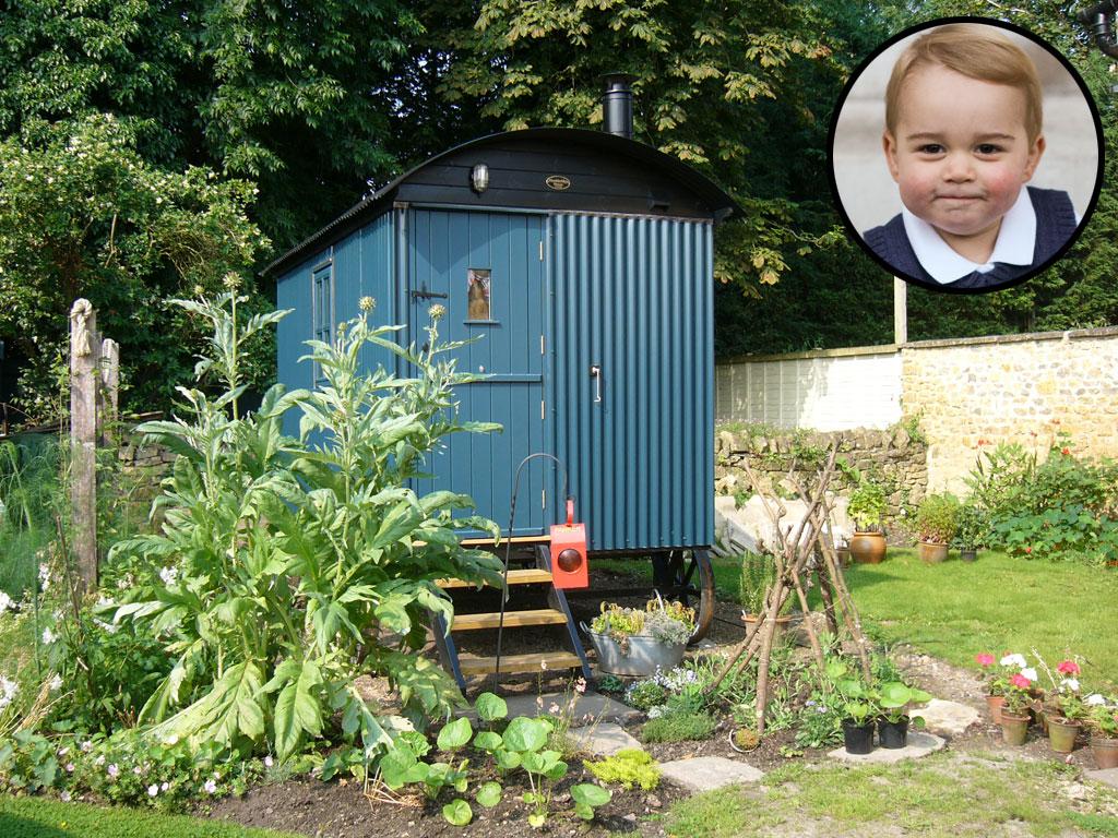 Prince George's Luxury Shepherd's Hut
