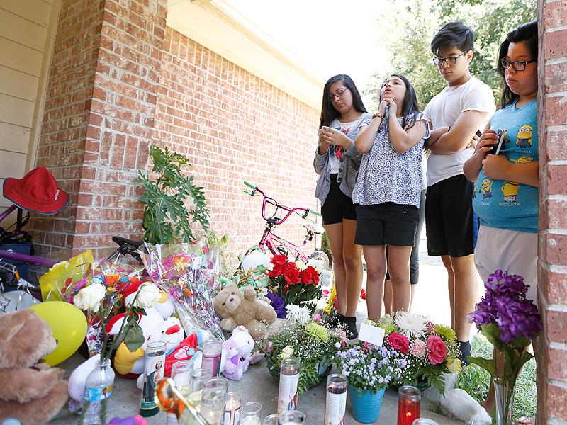 Houston Mom Sent Text Begging for Help Before Massacre