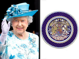 Tea Time! Queen Elizabeth's Record-Breaking Reign Commemorated with Special China Inspired by Her Coronation