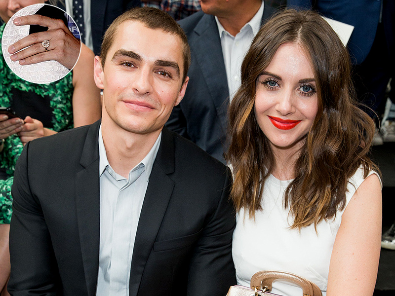 'Mad Men' star engaged: Alison Brie and Dave Franco