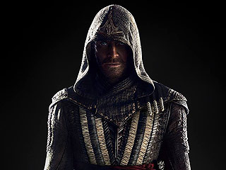 FROM EW: Michael Fassbender Looks Like a Creepy Killer in First Assassin's Creed Photo