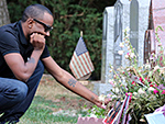 Nick Gordon Visits Bobbi Kristina Brown's Grave as He Faces Wrongful Death Lawsuit