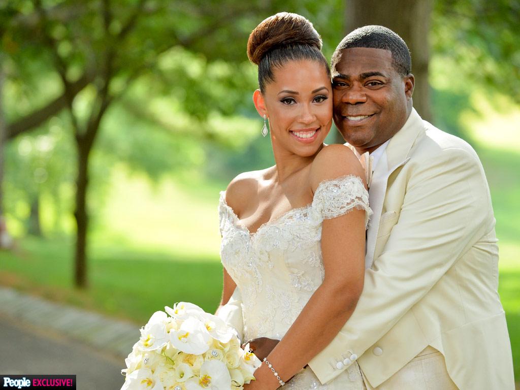 Tracy Morgan Marries Megan Wollover