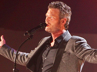 Blake Shelton and Brad Paisley Film a Movie at the Grand Ole Opry
