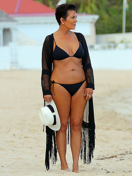 Kris Jenner Wearing a Bikini at 59: Photo